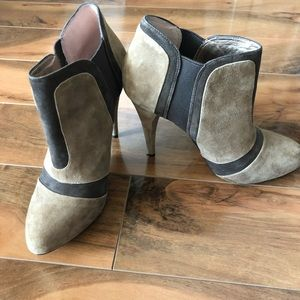 BCBGeneration brown suede booties